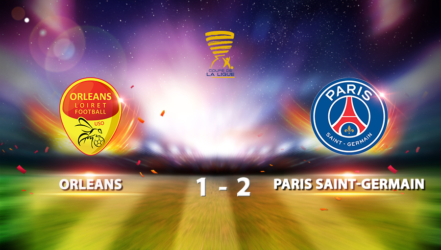 Orleans 1-2 Paris Saint-Germain