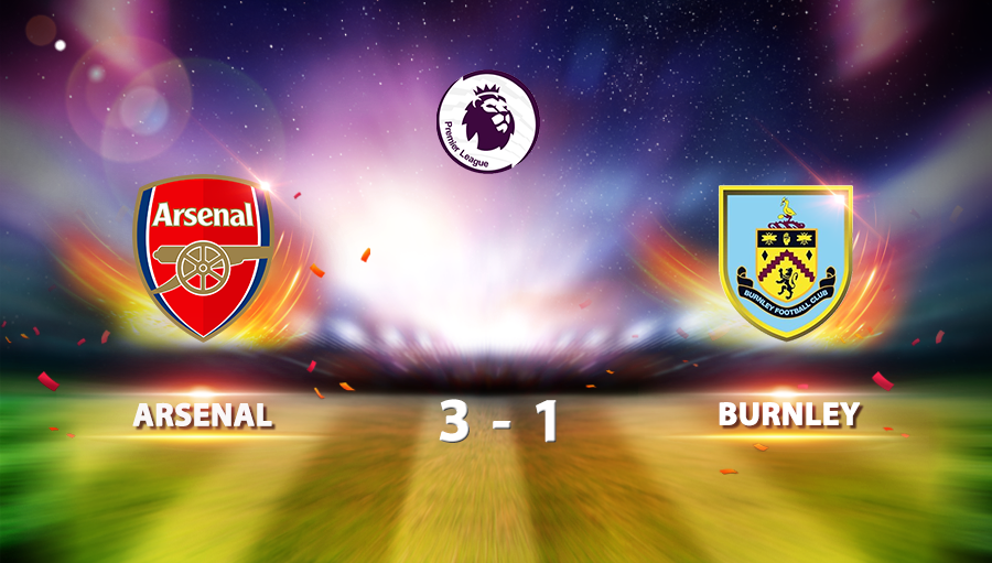 Arsenal 3-1 Burnley