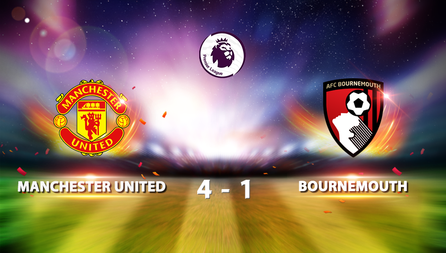 Manchester United 4-1 Bournemouth