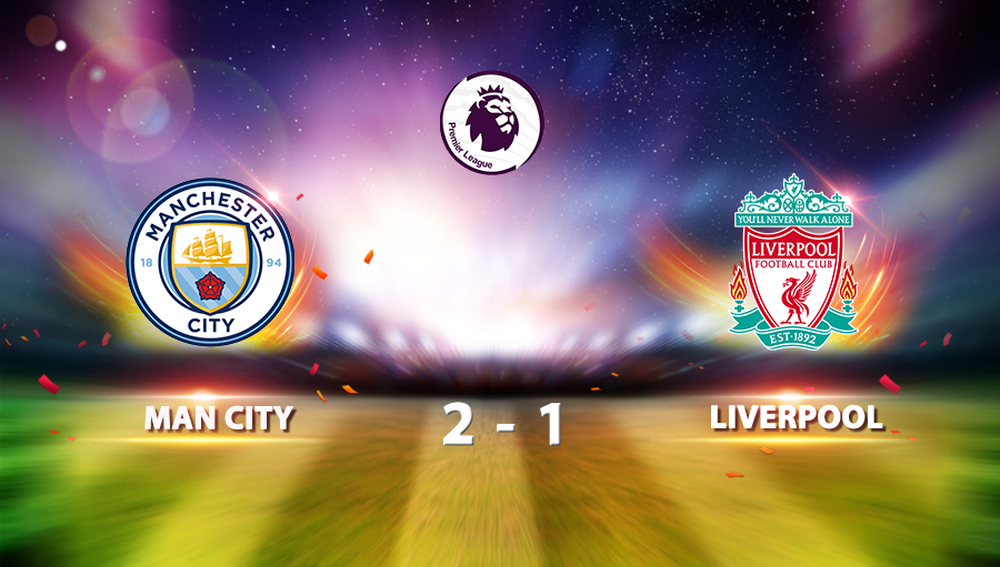 Manchester City 2-1 Liverpool
