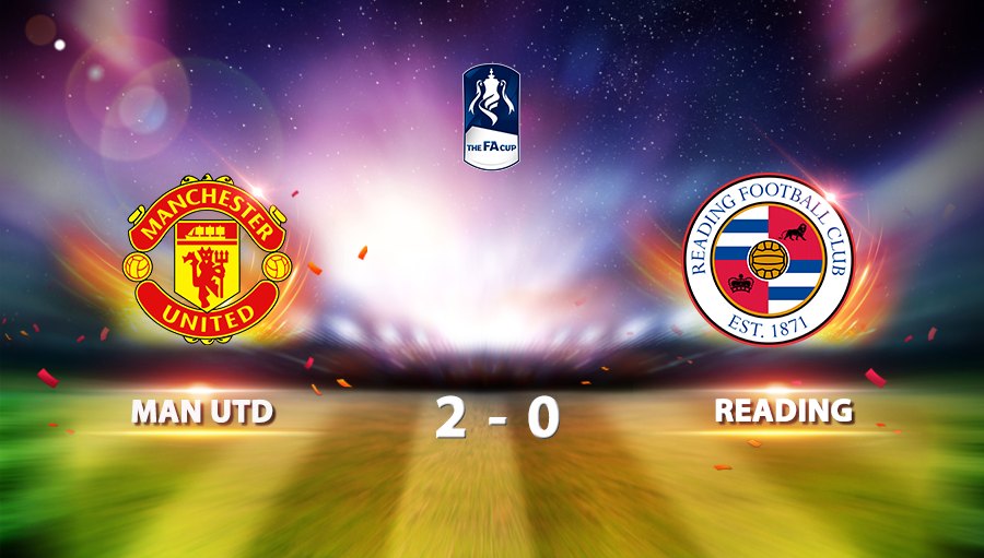 Manchester United 2-0 Reading