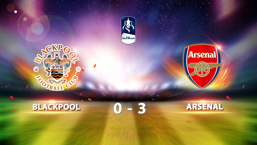 Blackpool 0-3 Arsenal