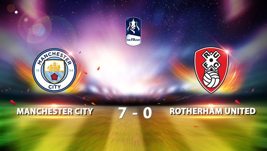 Manchester City 7-0 Rotherham United