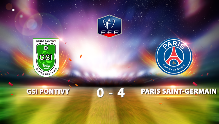 GSI Pontivy 0-4 Paris Saint Germain