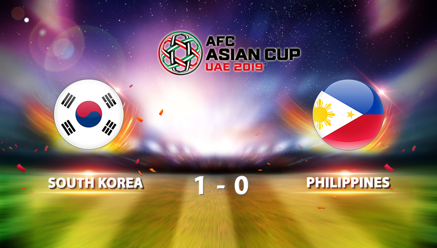 South Korea 1-0 Philippines