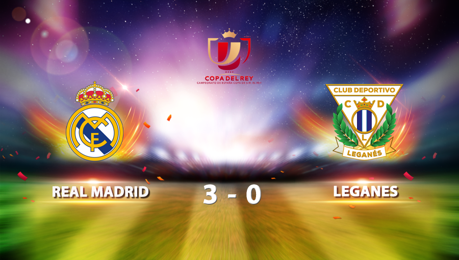 Real Madrid 3-0 Leganes