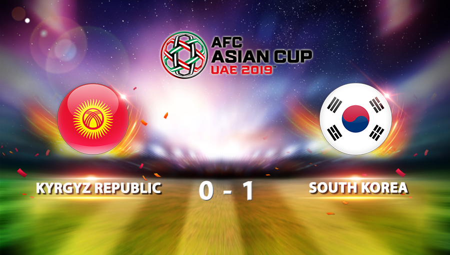 Kyrgyz Republic 0-1 South Korea