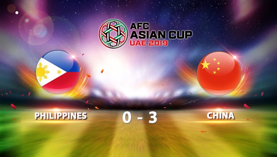 Philippines 0-3 China