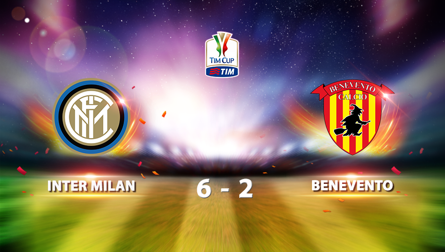 Inter Milan 6-2 Benevento