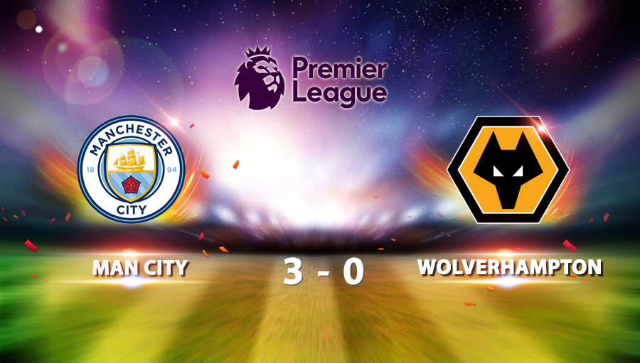 Man City 3-0 Wolverhampton