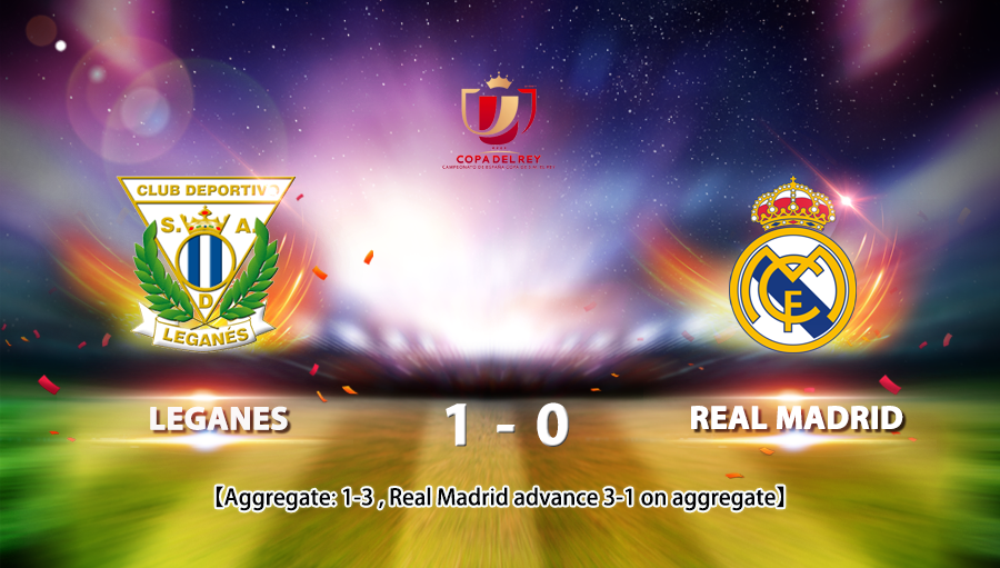 Laganes 1-0 Real Madrid