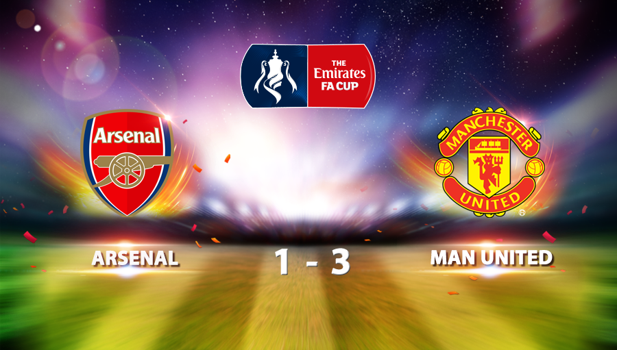 Arsenal 1-3 Manchester United