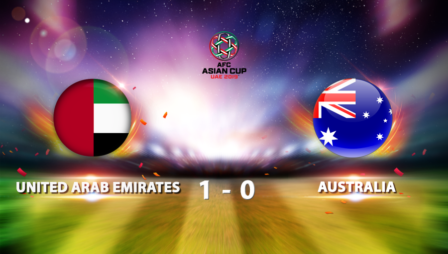 United Arab Emirates 1-0 Australia