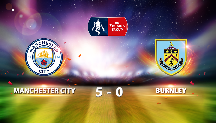 Manchester City 5-0 Burnley