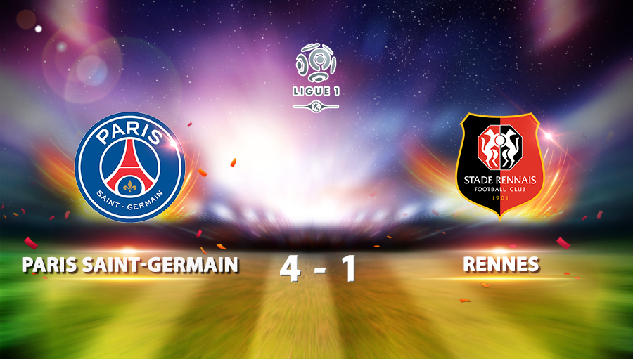 Paris Saint-Germain 4-1 Rennes