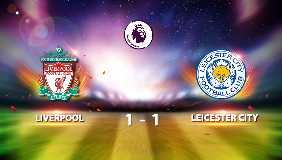 Liverpool 1-1 Leicester City