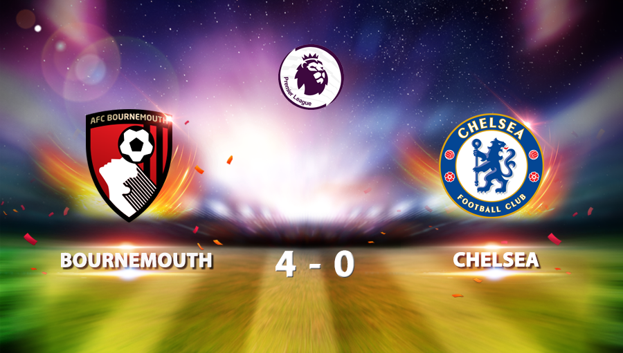 Bournemouth 4-0 Chelsea