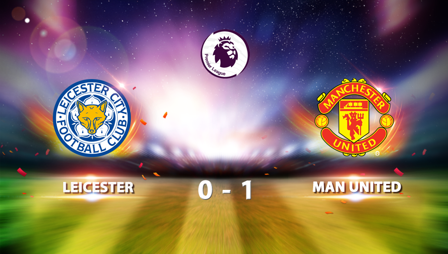 Leicester 0-1 Man United