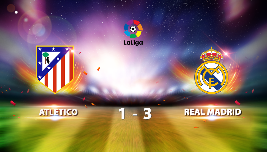 Atletico 1-3 Real Madrid