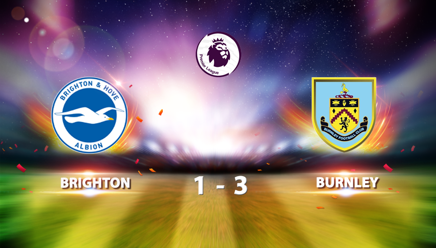 Brighton 1-3 Burnley