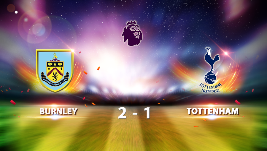 Burnley 2-1 Tottenham