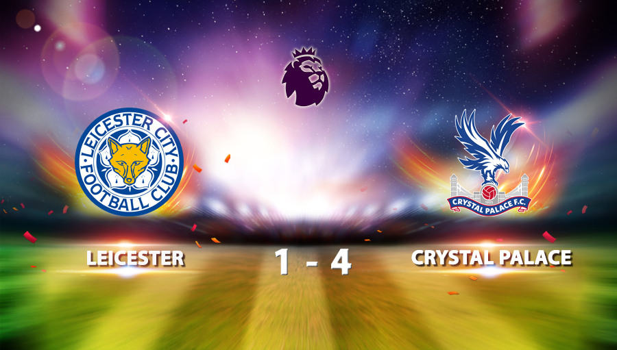 Leicester 1-4 Crystal Palace
