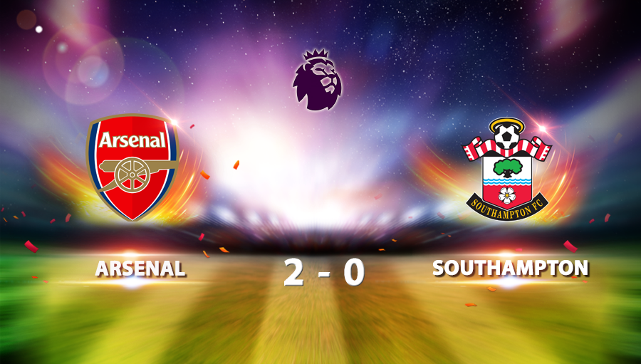 Arsenal 2-0 Southampton