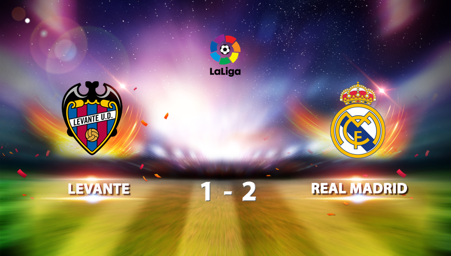 Levante 1-2 Real Madrid