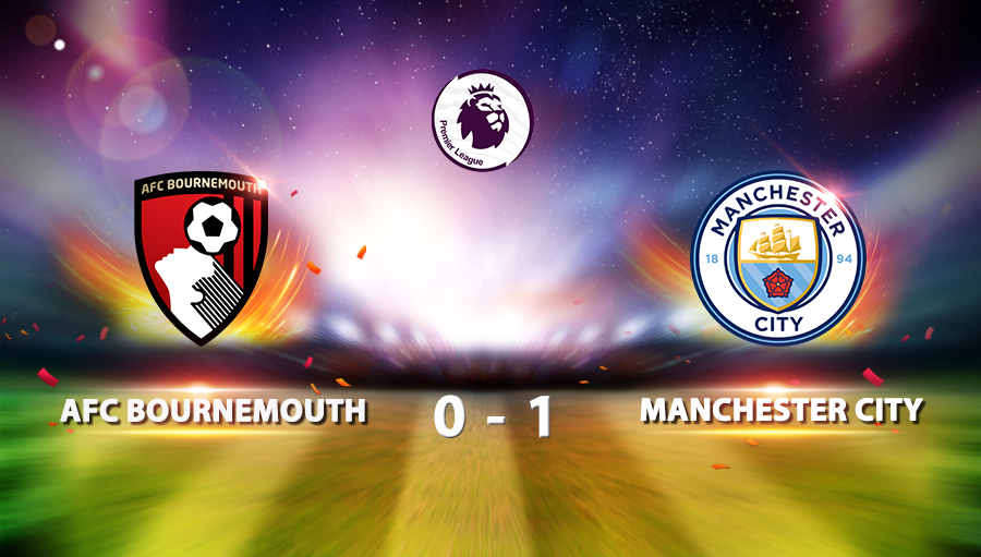 Bournemouth 0-1 Manchester City