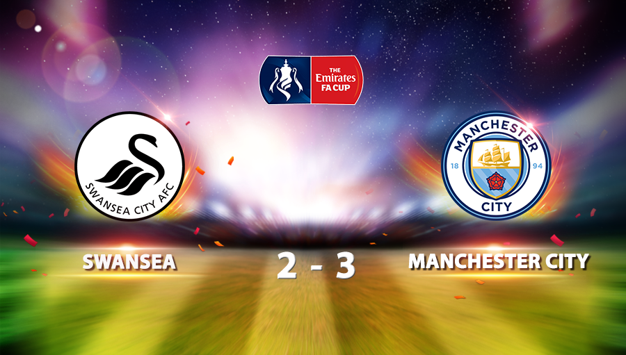 Swansea 2-3 Manchester City