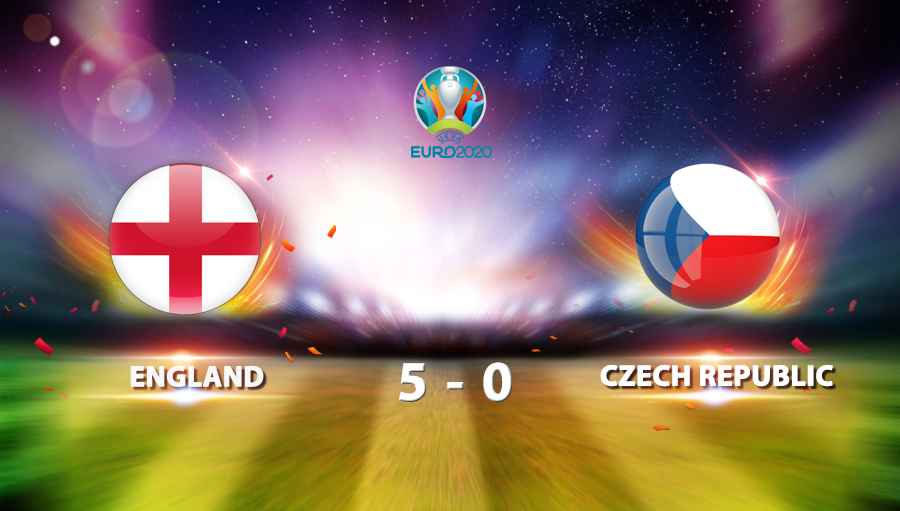 England 5-0 Czech Republic