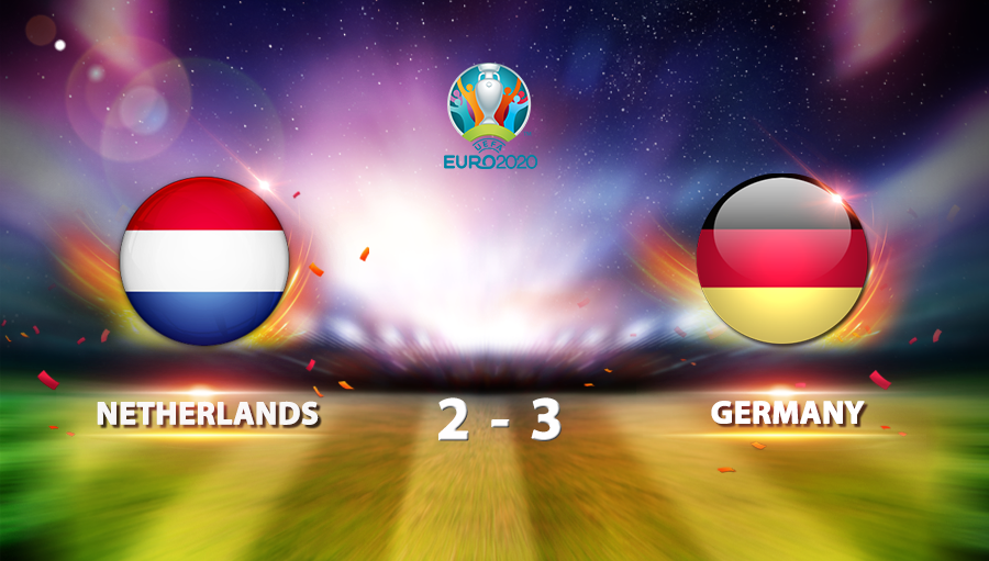 Netherlands 2-3 Germany