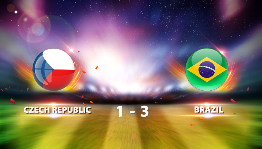 Czech Republic 1-3 Brazil