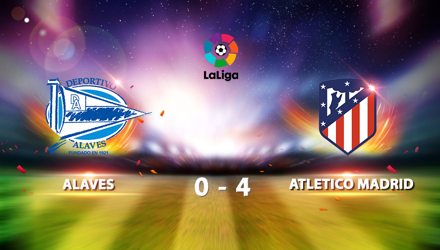 Alaves 0-4 Atletico Madrid