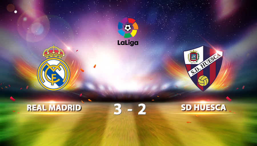 Real Madrid 3-2 SD Huesca