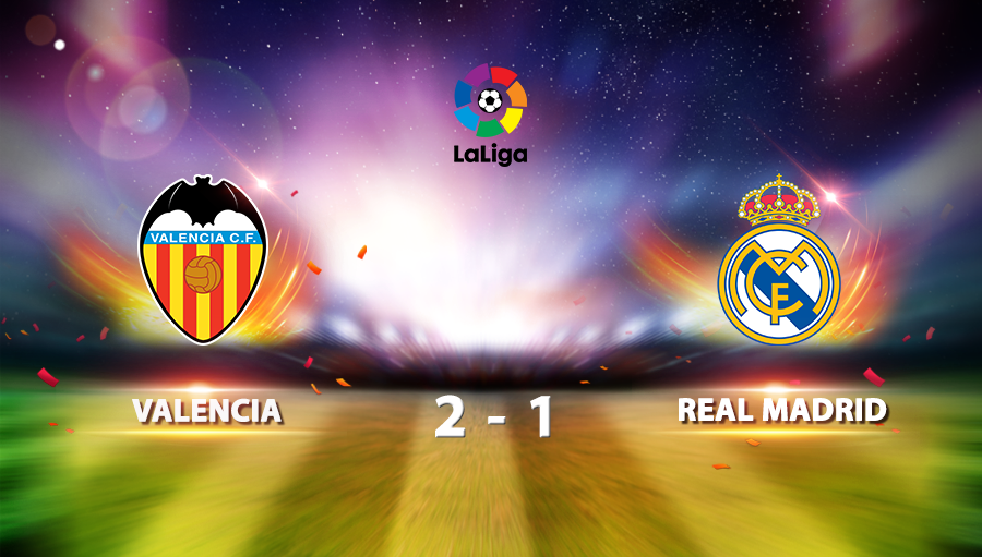 Valencia 2-1 Real Madrid