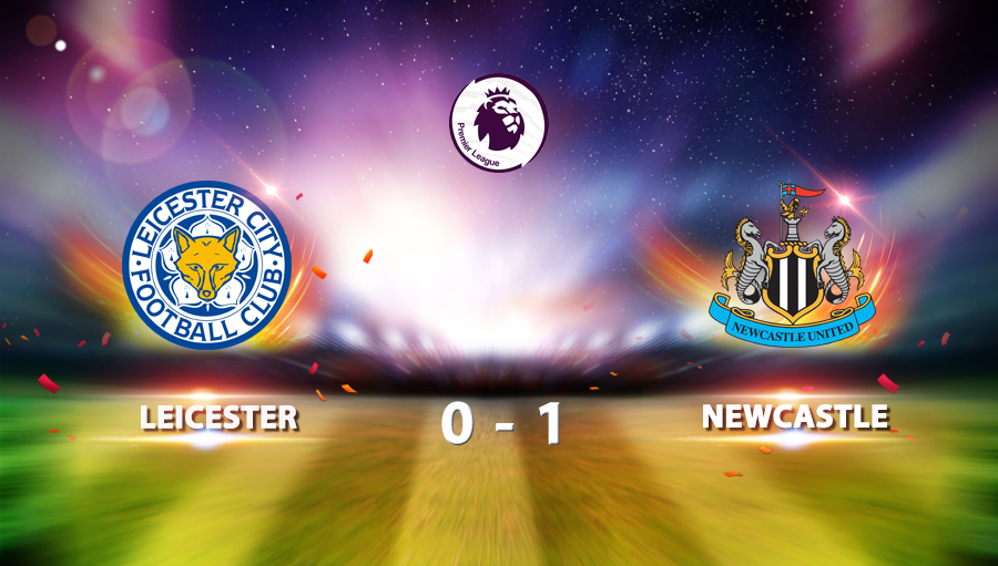 Leicester 0-1 Newcastle