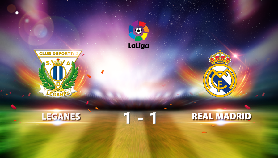 Leganes 1-1 Real Madrid