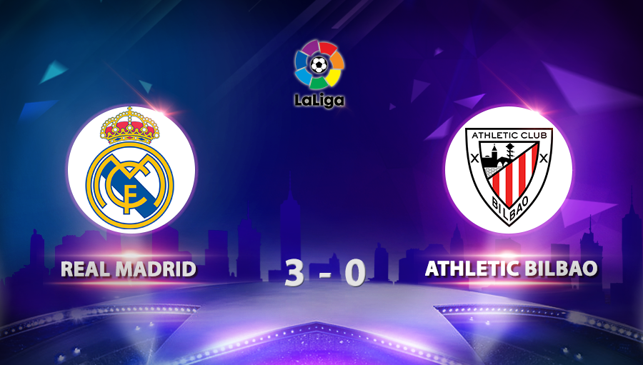 Real Madrid 3-0 Athletic Bilbao