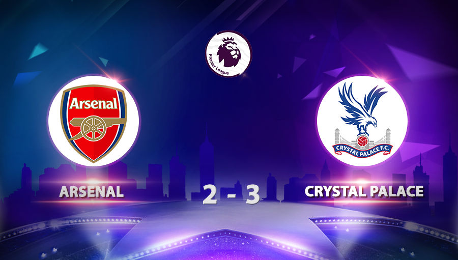 Arsenal 2-3 Crystal Palace