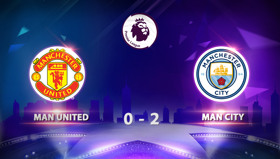 Man United 0-2 Man City