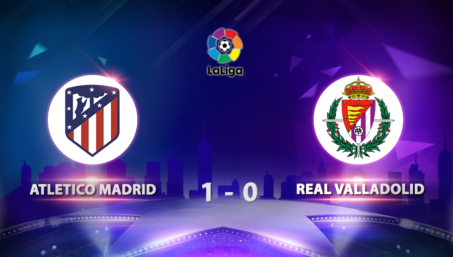 Atletico Madrid 1-0 Real Valladolid