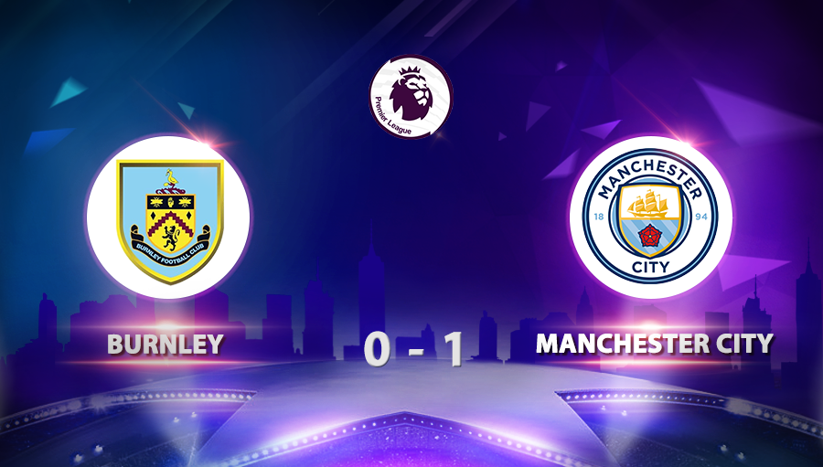 Burnley 0-1 Manchester City