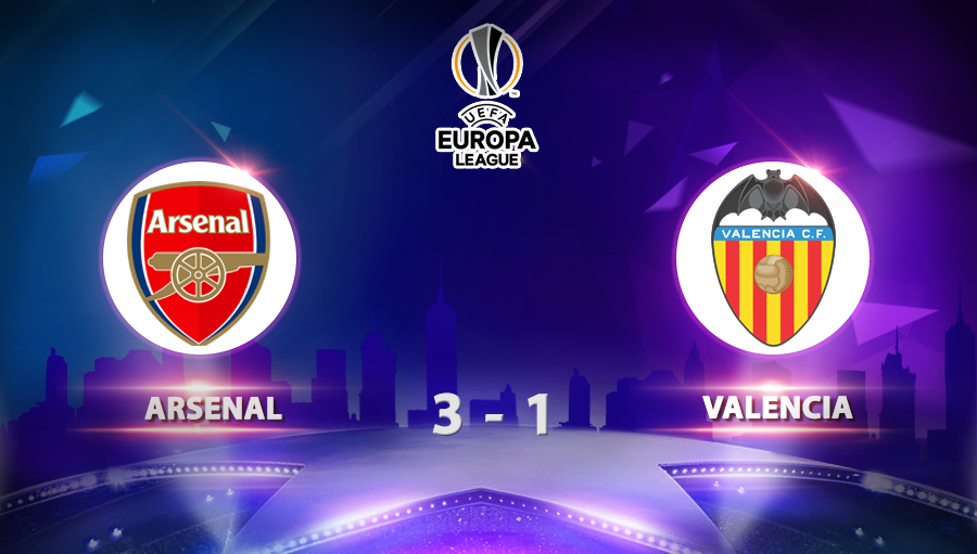 Arsenal 3-1 Valencia