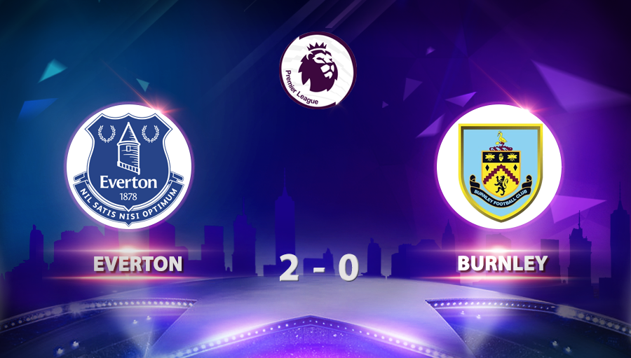 Everton 2-0 Burnley
