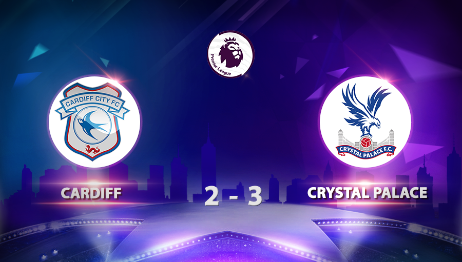 Cardiff 2-3 Crystal Palace