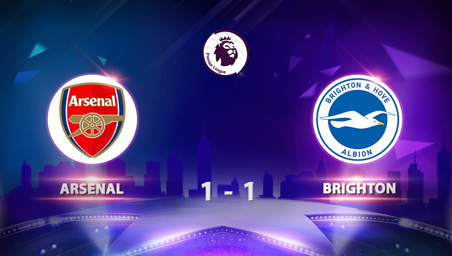 Arsenal 1-1 Brighton
