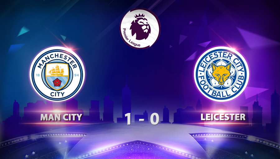 Man City 1-0 Leicester