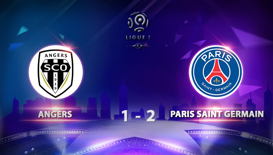Angers 1-2 Paris Saint Germain
