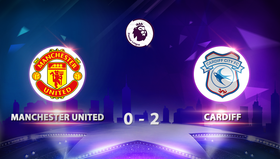 Manchester United 0-2 Cardiff